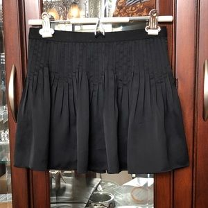 EUC Elizabeth & James Pleated Silk Skirt